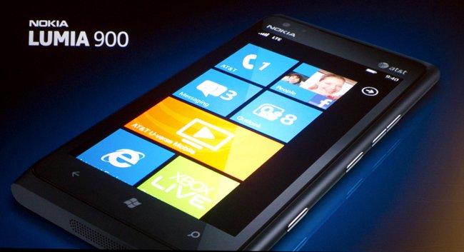 Nokia Lumia 900, su debut en los Estados Unidos