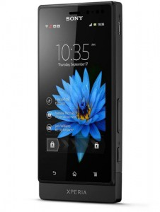 xperia sola, sony, floating touch