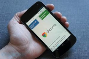 google, chrome para android