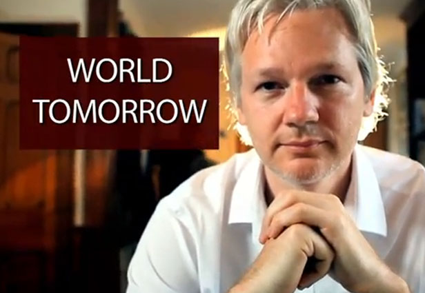 assange, wikileaks, the world tomorrow