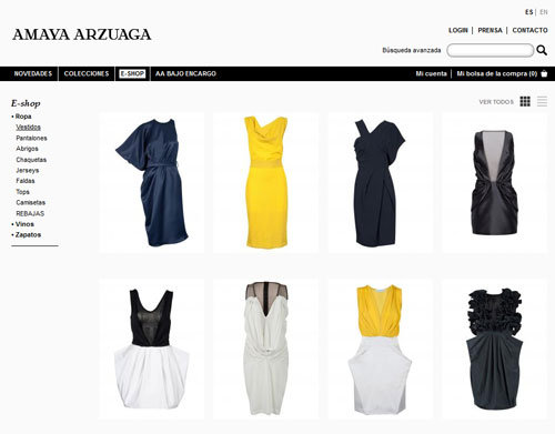 amaya arzuaga, tienda online amaya arzuaga