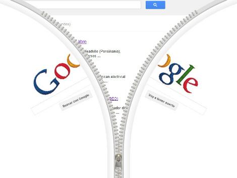 google, gideon sundback, cremallera