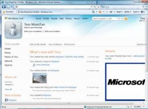 microsoft, myspace, windows live