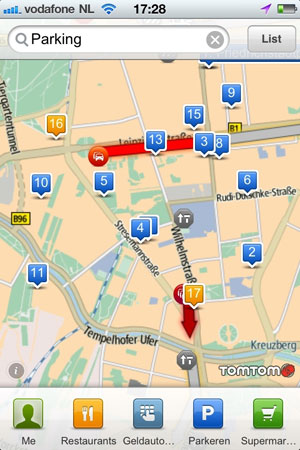 tomtom, ipad, iphone, tomtom places