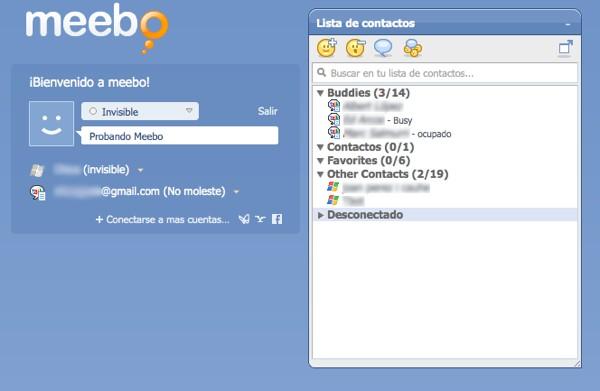 Google compraría Meebo