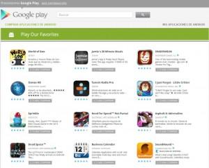 google play, factura mensual