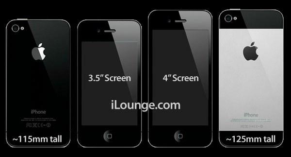 El iPhone 5 será más alto y más delgado