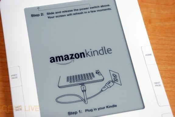kindle presentará un e-reader con nueva pantalla