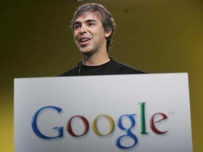 Larry Page, a un año como CEO de Google