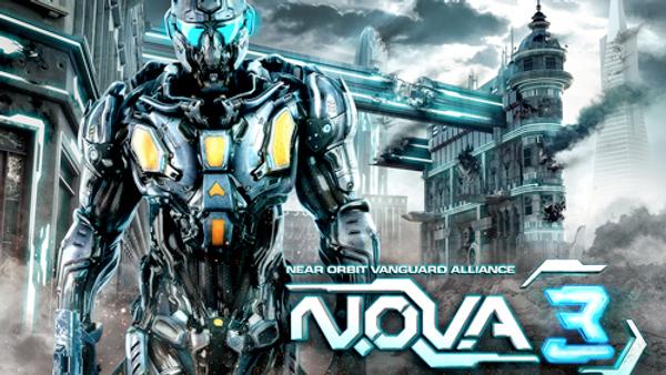 N.O.V.A. 3 para iPhone y iPad disponible en App Store
