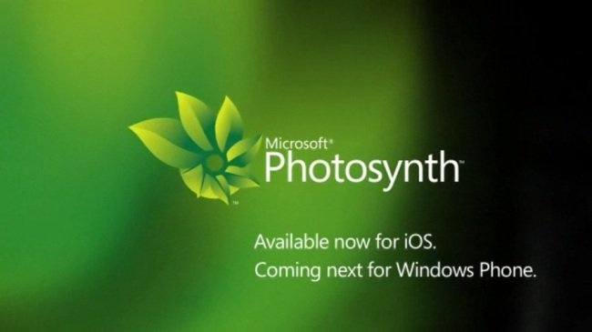 Microsoft anuncia Photosynth para Windows Phone