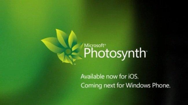 Microsoft anuncia Photosynth para Windows Phone