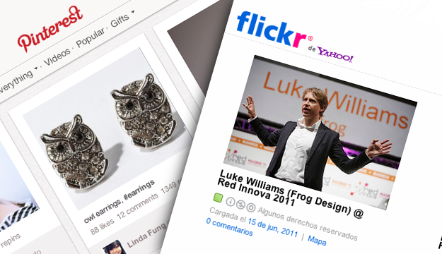Flickr, Pinterest, y el copyright