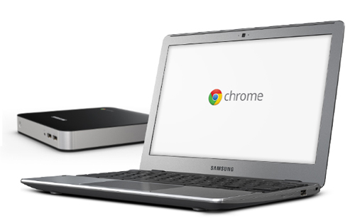 Samsung Chromebook y Chromebox
