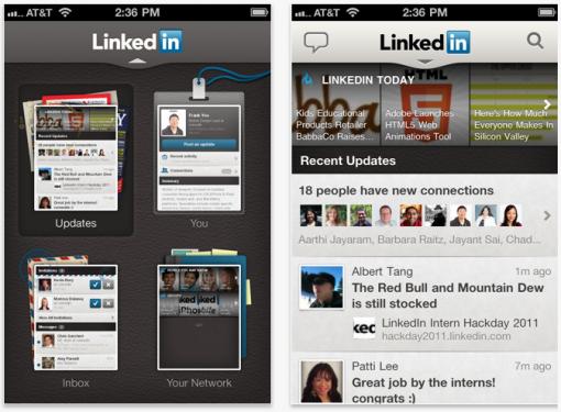 Problemas de privacidad en LinkedIn para iOS