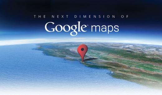 """Google presentará el 6 de junio """"La siguiente dimensión de Google Maps"""""""
