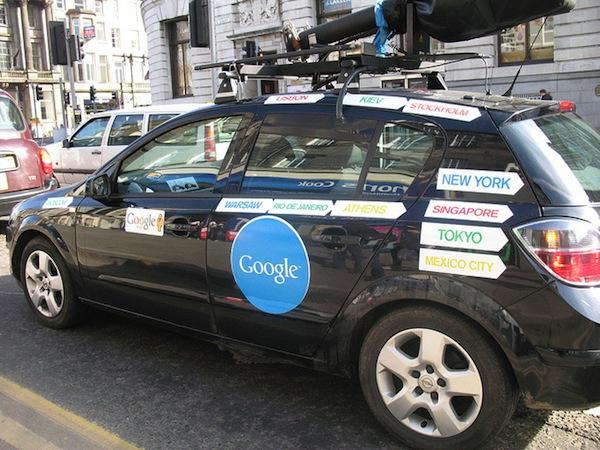 Google Street View es investigado en Reino Unido
