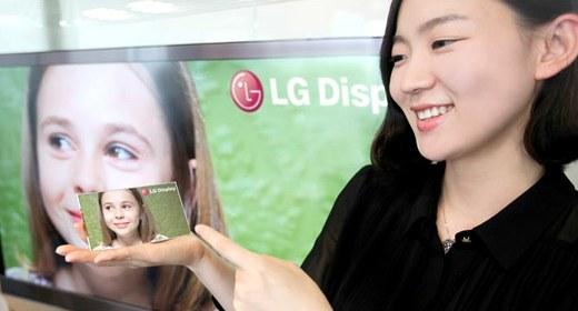 LG presenta una pantalla LCD Full HD de 5 pulgadas