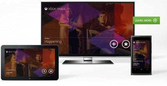 Xbox Music: lo mejor de Spotify e iTunes
