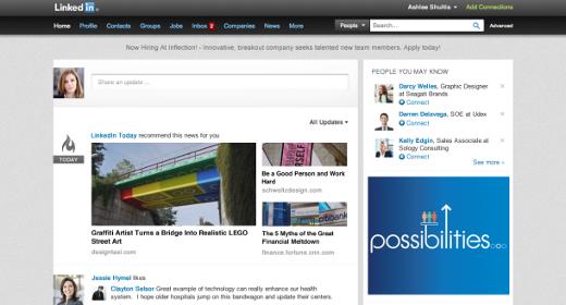 La red social LinkedIn se renueva y presenta un nuevo diseño