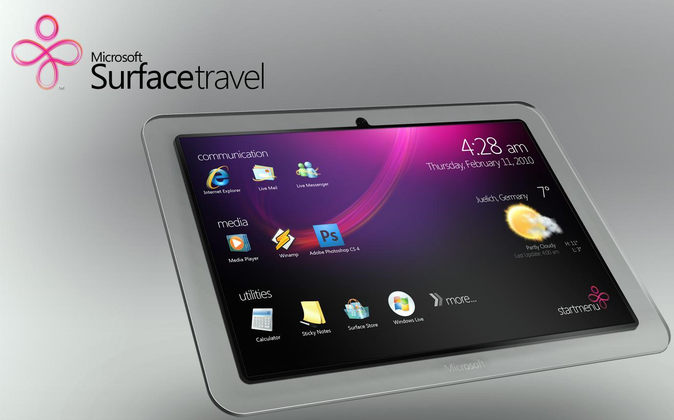 Microsoft Surface, lanzamiento en octubre