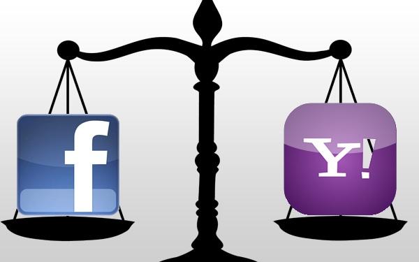 Facebook y Yahoo!