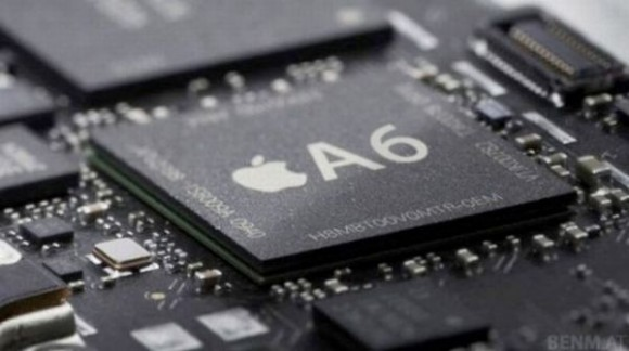 iPhone 5 con chip Apple A6, un procesador de cuatro núcleos