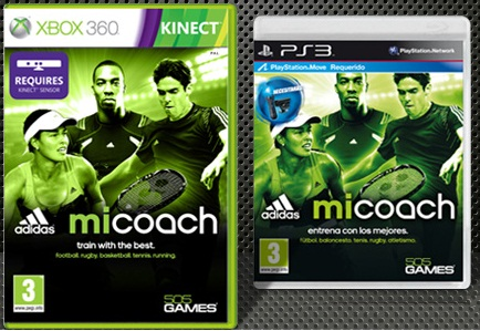Adidas miCoach, training para Xbox y PS3