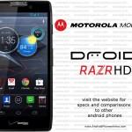Motorola Droid Razr HD, la nueva apuesta de Motorola