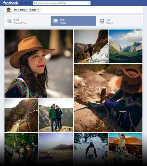Facebook rediseña la sección fotográfica