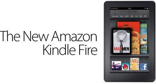 Amazon presentaría el nuevo Kindle Fire el 6 de septiembre