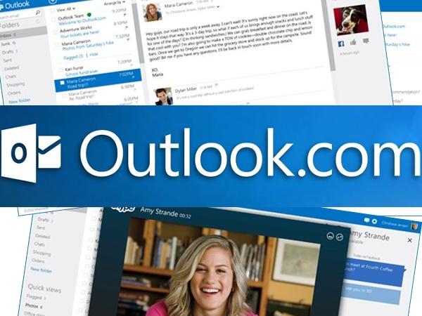 Outlook.com, 1 millón de usuarios en 6 horas