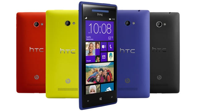 HTC anuncia smartphones con Windows Phone 8