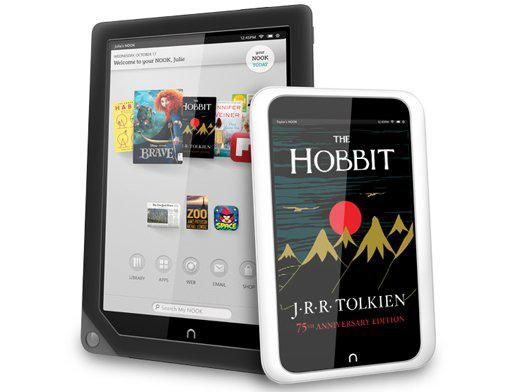 B&N lanza nuevos tablets: Nook HD y Nook HD+