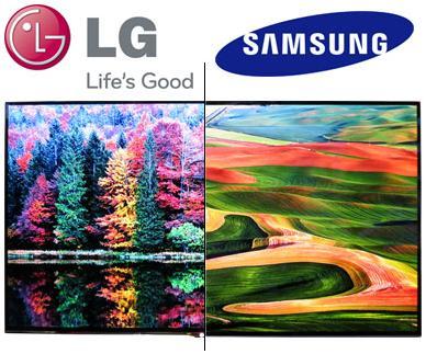 LG denuncia a Samsung por violación de las patentes del display OLED