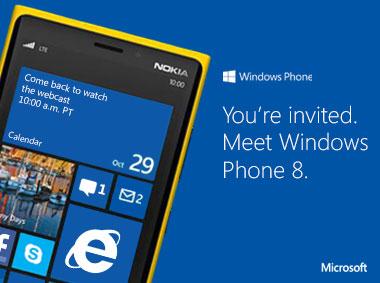 Microsoft presenta Windows Phone 8