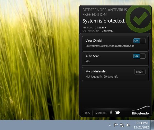 Bitdefender lanza una nueva versión gratuita de su antivirus