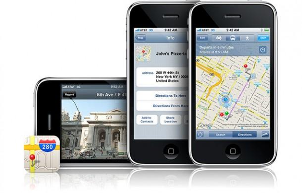 Google Maps para iPhone