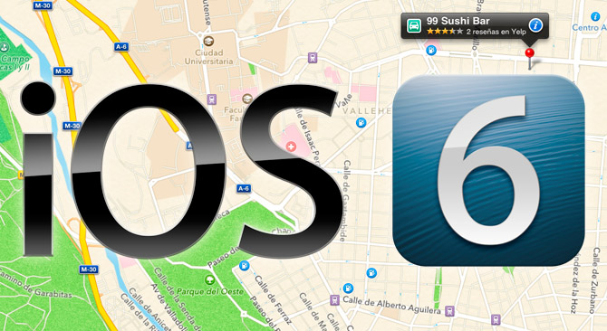Apple despide al responsable del servicio de mapas en iOS 6