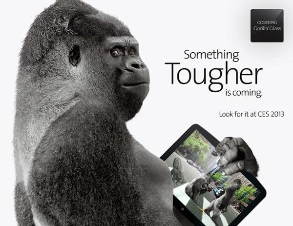Gorilla Glass 3 en el CES 2013