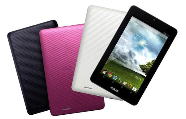Asus, un nuevo tablet Android de 7 pulgadas y bajo coste