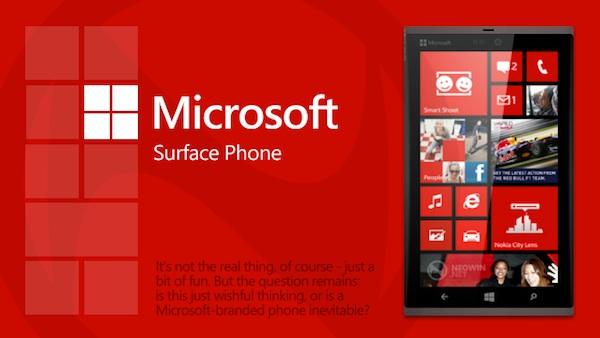Nokia teme por el Surface Phone de Microsoft