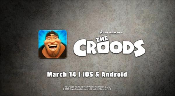 Rovio desarrolla el juego The Croods, un film firmado por DreamWorks Animation