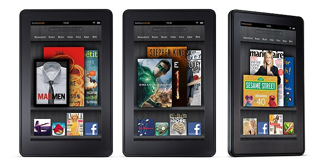 Amazon lanzaria un Kindle Fire de 10 pulgadas
