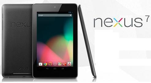 Google Nexus 7 sería anunciado durante el I/O