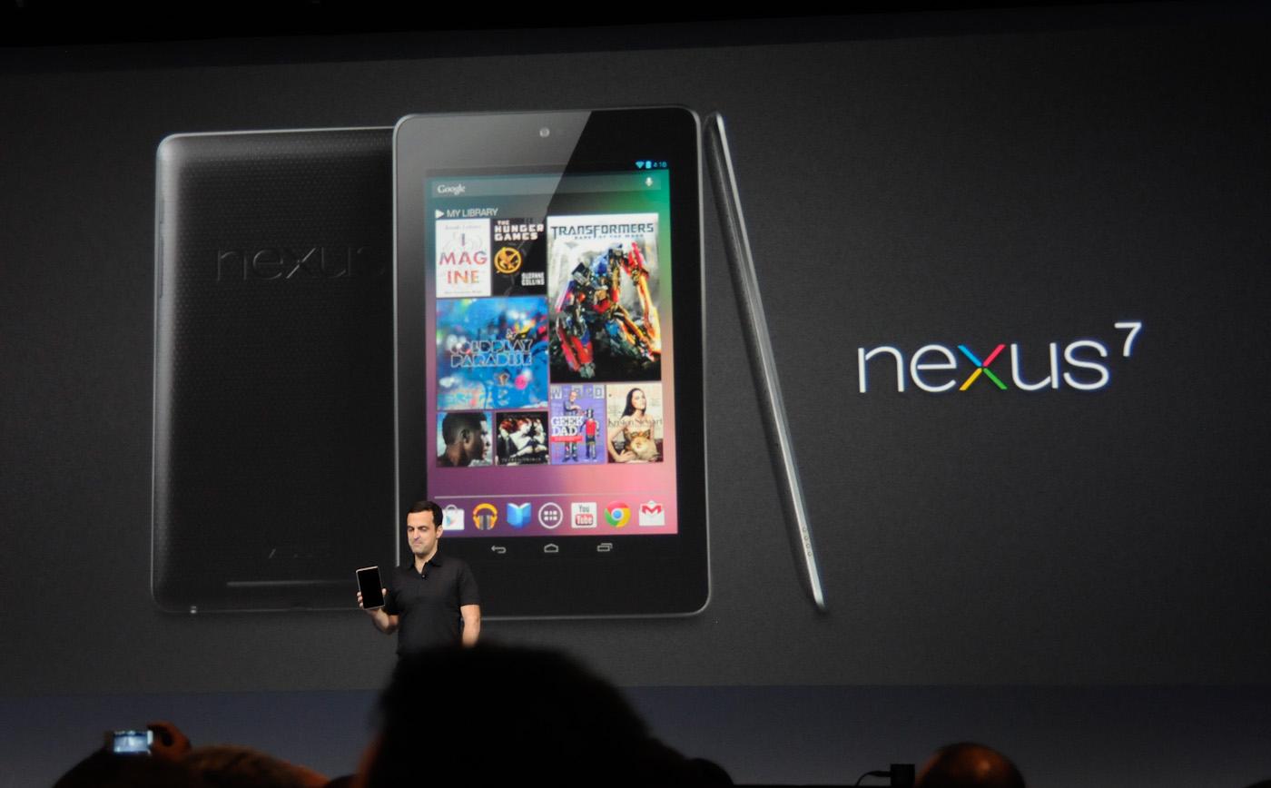 Nexus 7, la segunda generación sería lanzada en julio
