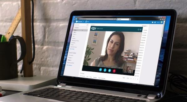 Microsoft integra Skype en Outlook.com