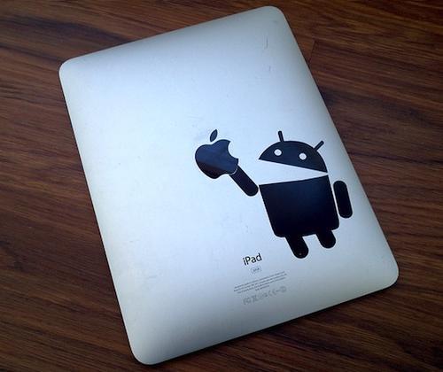 La tableta Android supera al iPad por primera vez en la historia