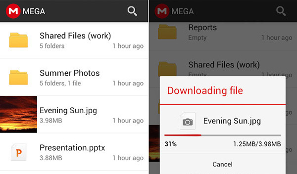 MEGA, llega la aplicación oficial