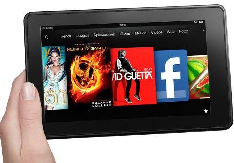 Amazon trabajaría en 3 nuevos Kindle Fire con hardware mejorado